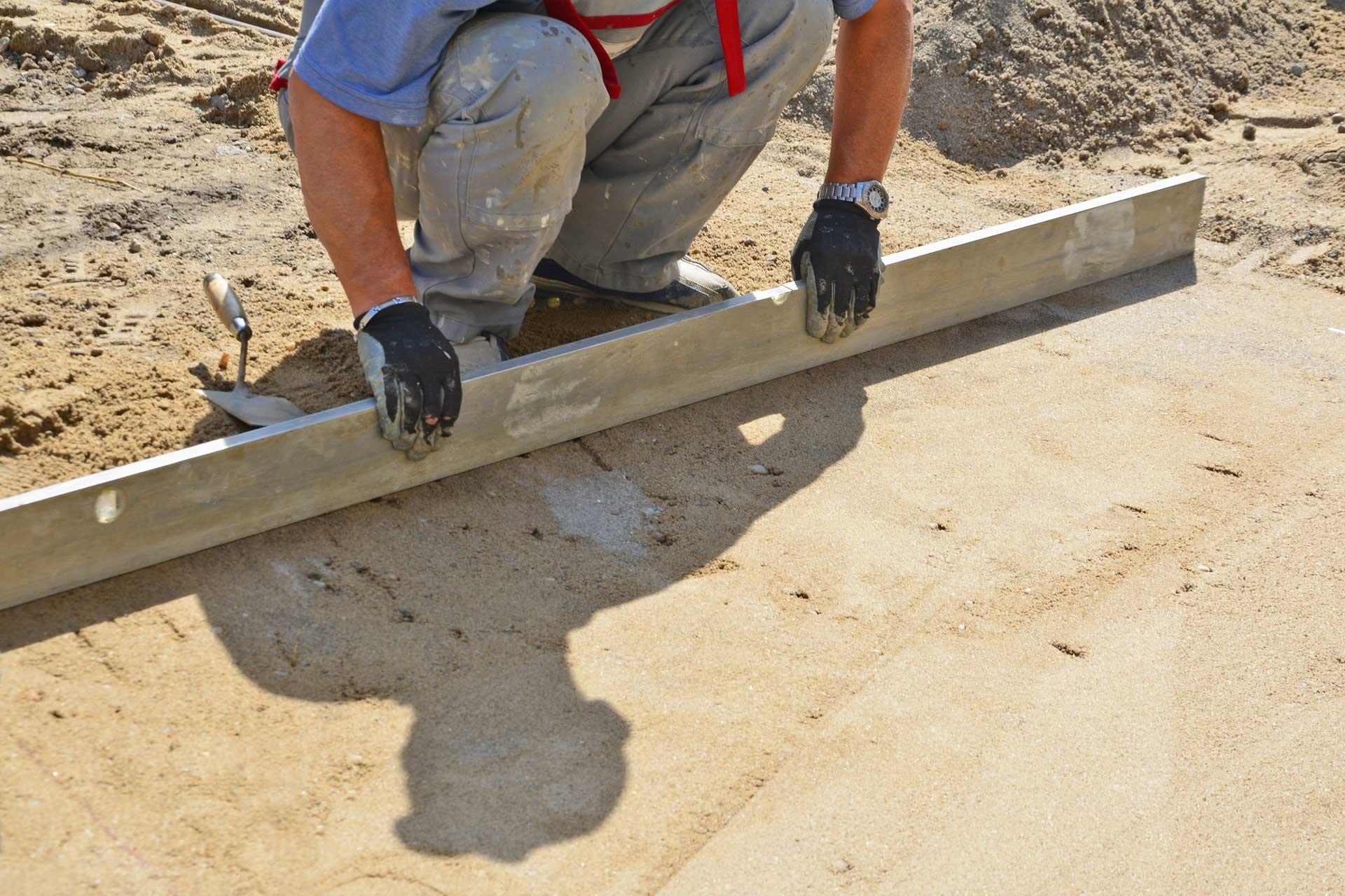 Bedding Sand in Bulk